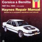 Haynes Chevrolet Corsica and Beretta, 1987-1996 - Repair Service Manual