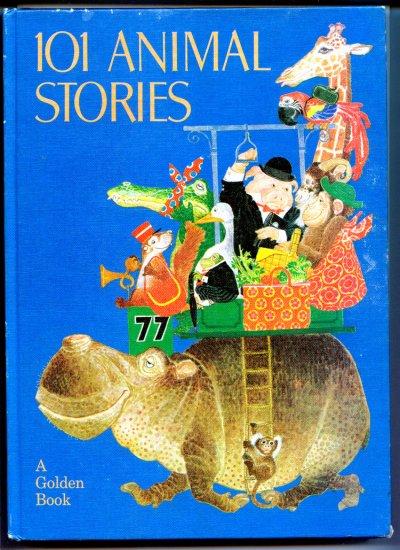 101 Animal Stories (A Golden Book) by Anne-Marie; Glynis Holland & Brenda Uttley, Dalmais, Benvenuti