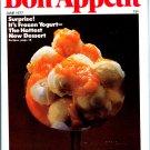 Bon Appetit Magazine - June 1977 (back issue) - Frozen Yogurt - Phyllis Diller