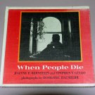 When People Die (Hardcover 1977) by Joanne Bernstein, Rosmarie Hausherr