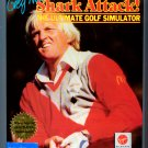 Greg Norman's Shark Attack! The Ultimate Golf Simulator - IBM DOS Tandy Video Game Retail Box