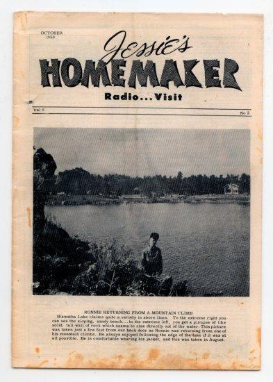 Jessie's Homemaker Radio Magazine - October 1950 - Volume 5, No. 2