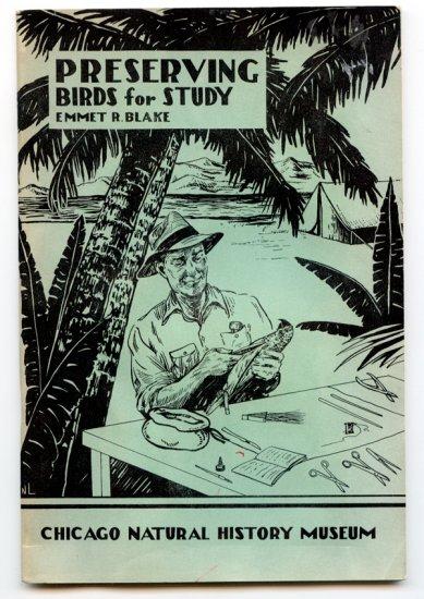 Preserving Birds for Study (Field technique #7) (1949) by Emmet Reid Blake