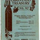 Christmas Treasury No. 47 (1936 Lorenz Publishing) Recitations, Exercises, Drills, Dialogs...