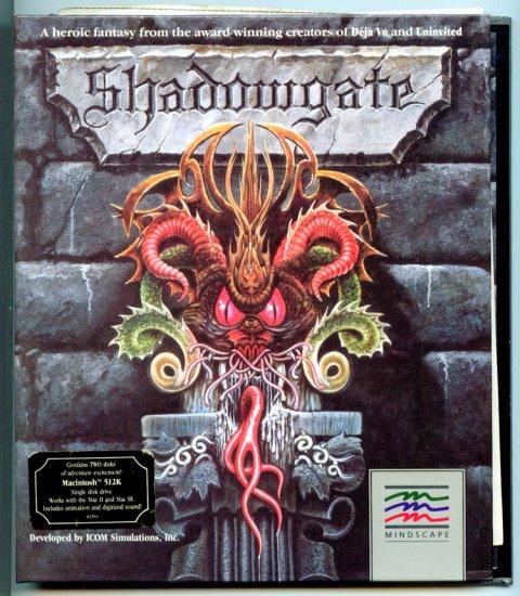 Shadowgate by Mindscape - Original Medieval Fantasy MAC Computer Video Game