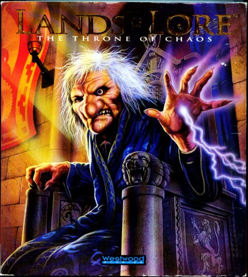 Lands of Lore: The Throne of Chaos (Retail Box) DOS PC Video Game