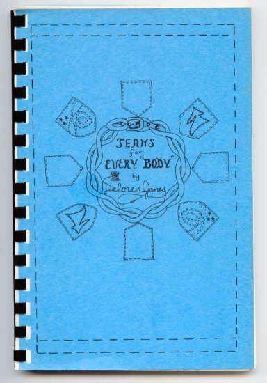 "Jeans for Every ""Body"" by Delores J. Janes (SC 1981) Vintage Fashion Design"