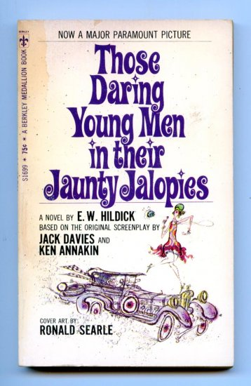 Those Daring Young Men in their Jaunty Jalopies by E.W. Hildick, Jack Davies