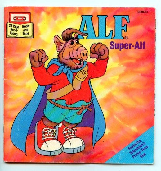 ALF Super-Alf (Book and Tape Edition) (Buena Vista 289DC) T.V. Character