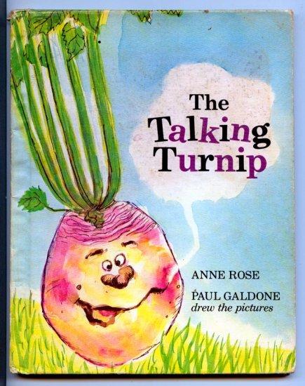 The talking Turnip by Anne K Rose, Paul Galdone
