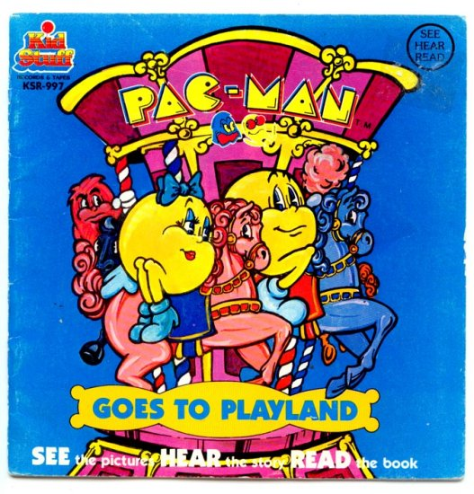 Pac-Man Goes to Playland: Talking Story Book (Kid Stuff)