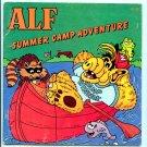 ALF: Summer Camp Adventure (1987 Checkerboard Press) by Harry Coe Verr, Eldon Doty