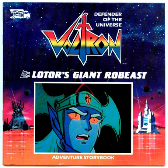 Voltron Defender of the Universe Lotor's Giant Robeast by Robin Snyder