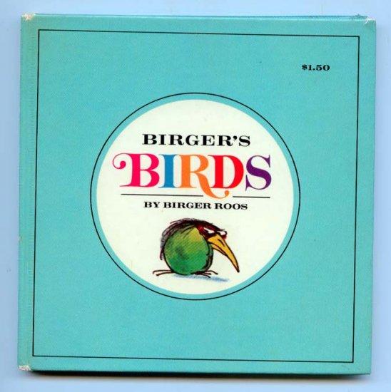 Birger's Birds (HC 1968) by Birger Roos - Cartoon Illustrations