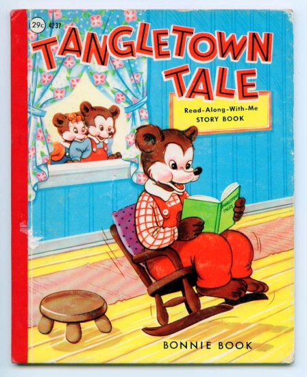 Read-Along-With-Me Tangletown Tale (Bonnie Book) (HC 1964) Samuel Lowe