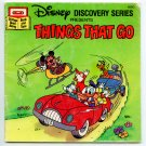 Things That Go (Book and Tape) by Disney Discovery Series (42DC)