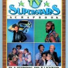 TV Superstars Scrapbook (1984 Book) Mr. T, David Hasselhoff, Knight Rider