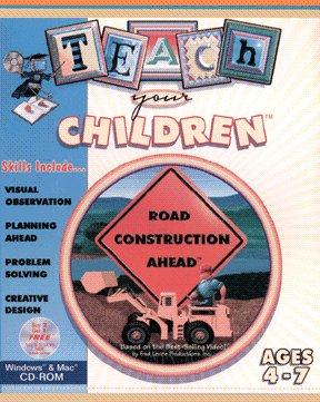Road Construction Ahead (Win/Mac CD Video Game) Interactive