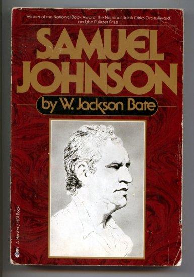 Samuel Johnson by Walter Jackson Bate (Biography of)