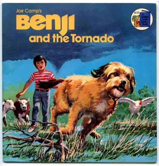 Joe Camp's Benji and the tornado (A Golden look-look book) By Gina Ingoglia, Barbara Schaare