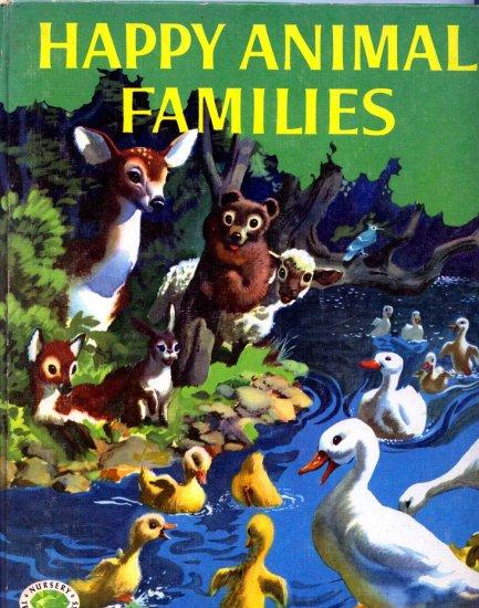 Happy Animal Families (HC 1957) by Ernestine Beyer, John Pike (Illustrator)