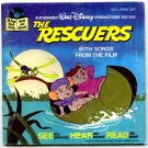 The Rescuers (Read-Along Book and Record #367) by Walt Disney