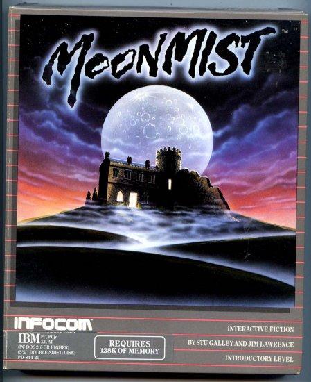 MOONMIST by Infocom (Vintage IBM-PC Video Game Software) Stu Galley