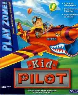 Kid PILOT by Knowledge Adventure (Flight Simulator) PC CD Video Game