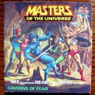 Masters of the Universe: Caverns of Fear by Mary Carey (He-Man) Book & Tape DBR 241