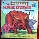 The Horned Dinosaur: Triceratops (I Love Dinosaurs) (A Golden Look-Look Book) by Michael Berenstain