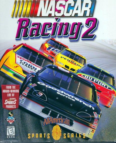 NASCAR Racing 2 by Vivendi Universal (PC Video Game) (CD-ROM Retail Box)