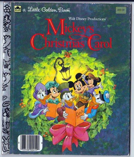 Mickey's Christmas Carol (A Little Golden Book) Walt Disney Productions