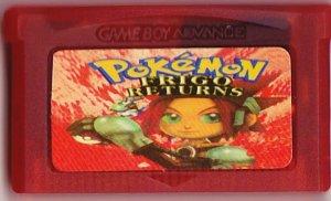 Pokemon : FRIGO Returns (Game Boy Advance Cartridge) (Ruby & Sapphire)