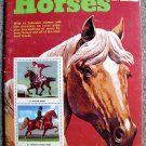 The Golden Stamp Book of Horses by Eugene Rachlis (Full Color Collectible Stamps)