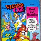 The Wizard of Oz [Book and Recording] Illustrated by George C. Peed (1944)