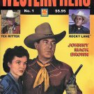 Western Movie Hero Magazine by AC Comics (Issue No. 1) Tex Ritter, Rocky Lane, Johnny Mack [PDF]