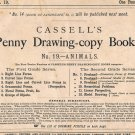 Cassell's Penny Drawing Copy Sketch Book No. 19 Animals (1871) Study & Teaching [PDF Download]