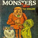 Funny Monsters to Color (Treasure Coloring Book) Vintage [PDF Download & Print]