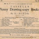 Cassell's Penny Drawing Copy Sketch Book No. 22 BIRDS (1871) [PDF Download]