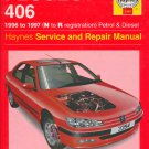 Peugeot 406 Vehicles 1996-97 (N to R) Gas & Diesel Service & Repair Manual [Digital Edition]
