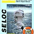 Johnson Evinrude Outboard Motors 1992-01 Repair Manual (SEL 1311)
