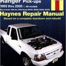 Ford Ranger & Mazda B Series Pickups Trucks (1993-2005) (Haynes Repair Service Manual)