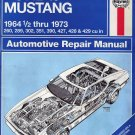 Ford Mustang V8 1964-1973 Haynes Automotive Repair Manual
