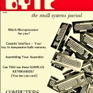 BYTE Computer Magazine Issue #1 September 1975 - Which Microprocessor for you? Cassette Interface