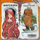 Rapunzel and The Gingerbread Man by John Strejan, Superscope Story Teller - Rex Irvine