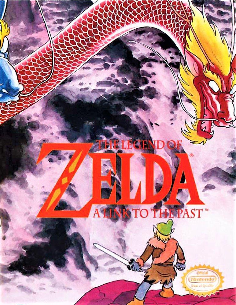 THE LEGEND OF ZELDA A Link to the Past (1993) Nintendo COMIC Book by Shotaro Ishinomori�
