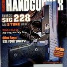 American Handgunner Magazine November/December 2002 Back Issue - Robarized SIG 228