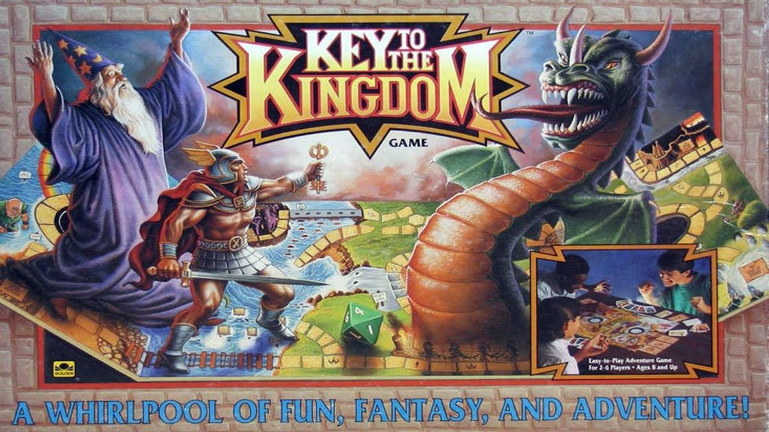 Key to the Kingdom Adventure Board Game Set - Hazard & Rulebook [Digital]
