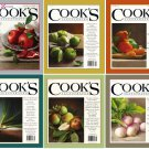 Cook's Illustrated Magazine - Full Year 2018 (6 Issue) Complete Collection [Digital]