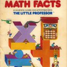 Fun With Math Facts - Little Professor Electronic Learning Aid Original Manual & Activity Book [PDF]
